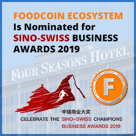 FOODCOIN GROUP AG is nominated for Sino-Swiss Business Awards 2019