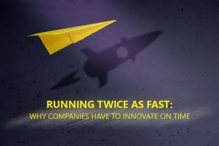 Running Twice as Fast: Why Companies Have to Innovate on Time