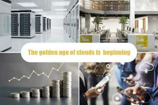 The golden age of clouds is  beginning