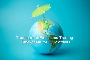 Transparent Emissions Trading: Blockchain for CO2 offsets