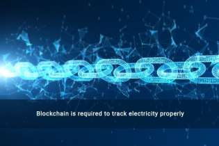 Blockchain is required to track electricity properly