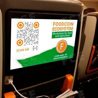 High into Sky: FoodCoin Launches an Advertising Campaign for In-flight Advertising