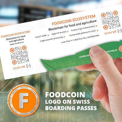 Swiss Airlines will Promote FoodCoin by 1M of their Boarding Passes