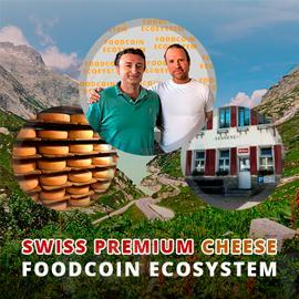 Swiss Premium Cheese Producers Use FOODCOIN Blockchain