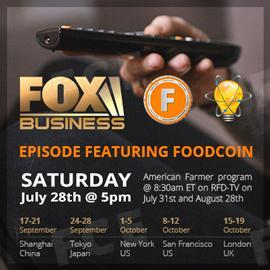 Schedule of Innovations with Ed Begley Featuring FOODCOIN