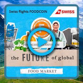 Videos About FoodCoin are Ready for Broadcasting During Swiss Flights