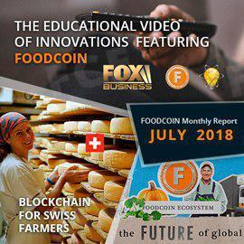 FoodCoin Monthly Report July 2018
