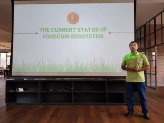 FOODCOIN at Credit Suisse Asset Management Internal Event