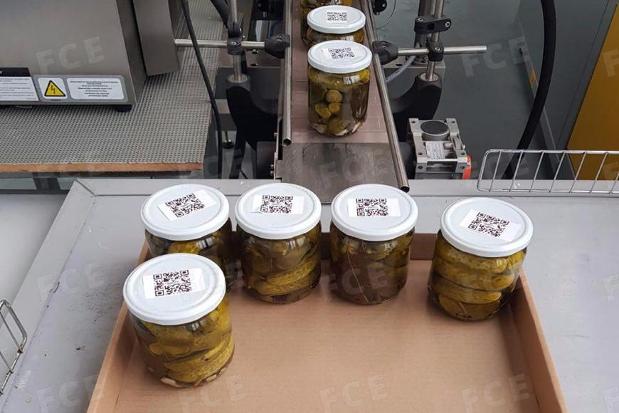 Source: The pickles and sauerkraut with QR codes