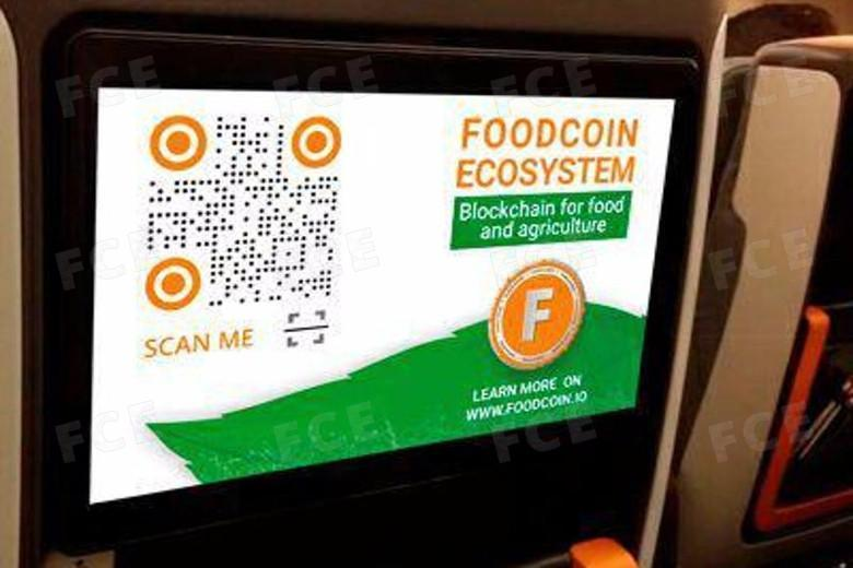 Singapore Airlines started playing FOODCOIN