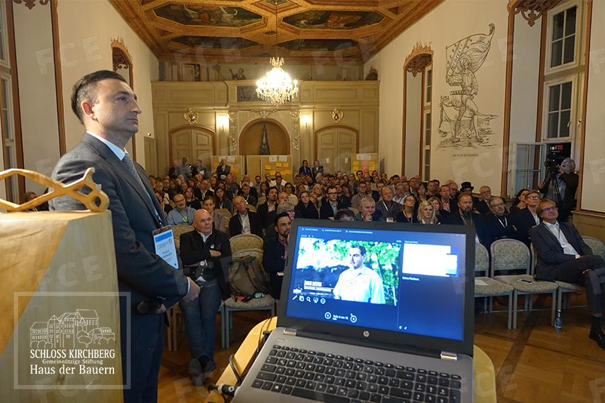 The presentation of Gregory Arzumanian