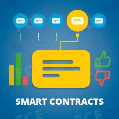 How smart contracts are arranged