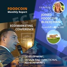 FOODCOIN Monthly Report October and November 2018