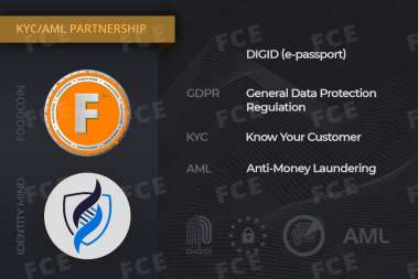 FOODCOIN Integrates IdentityMind KYC/AML Service
