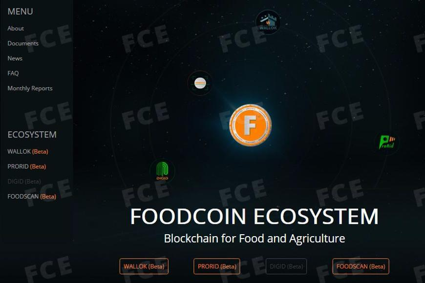 Source: FOODCOIN ECOSYSTEM website is updated