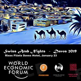 The CEO of FOODCOIN will participate in Swiss Arab Nights