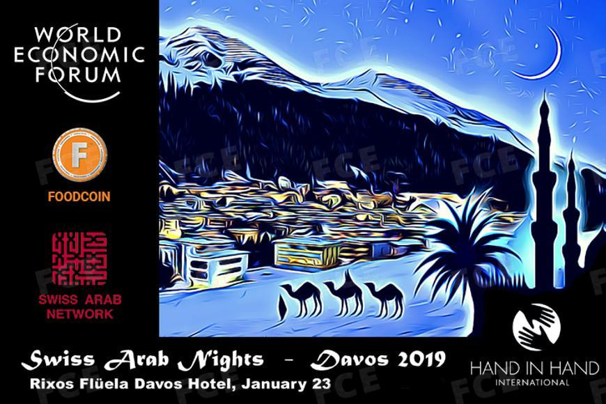 The CEO of FOODCOIN ECOSYSTEM will participate in Swiss Arab Nights