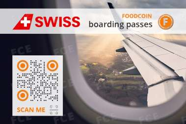 International Air Lines with FOODCOIN