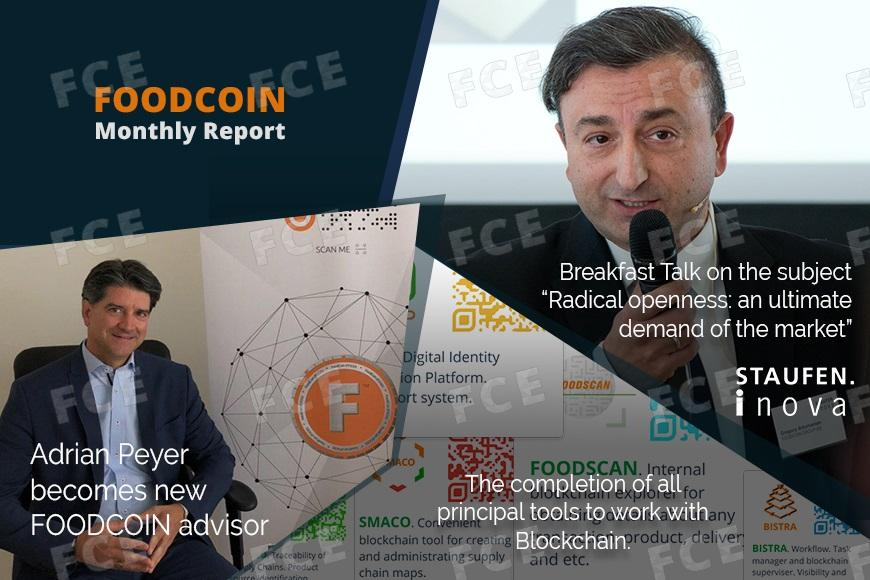 FOODCOIN Monthly Report March-April 2019
