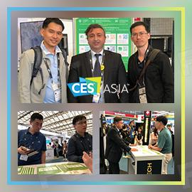 FOODCOIN Continues its Success at CES Asia
