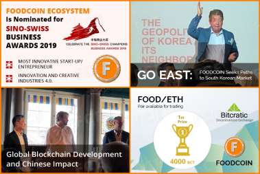 FOODCOIN MONTHLY REPORT AUGUST - SEPTEMBER 2019