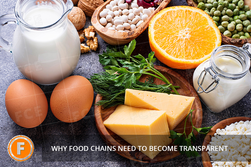 Without shadows and dark places: Why food chains need to become transparent