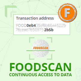 FOODSCAN: Continuous Access to Data