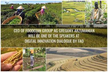 CEO of FOODCOIN GROUP Speaks at FAO Digital Innovation Dialogue