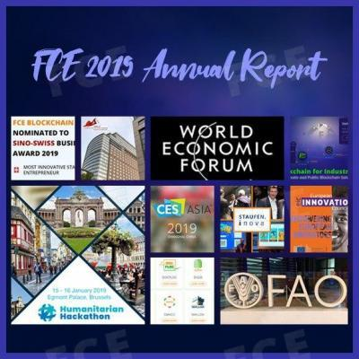 FCE BLOCKCHAIN 2019 ANNUAL REPORT