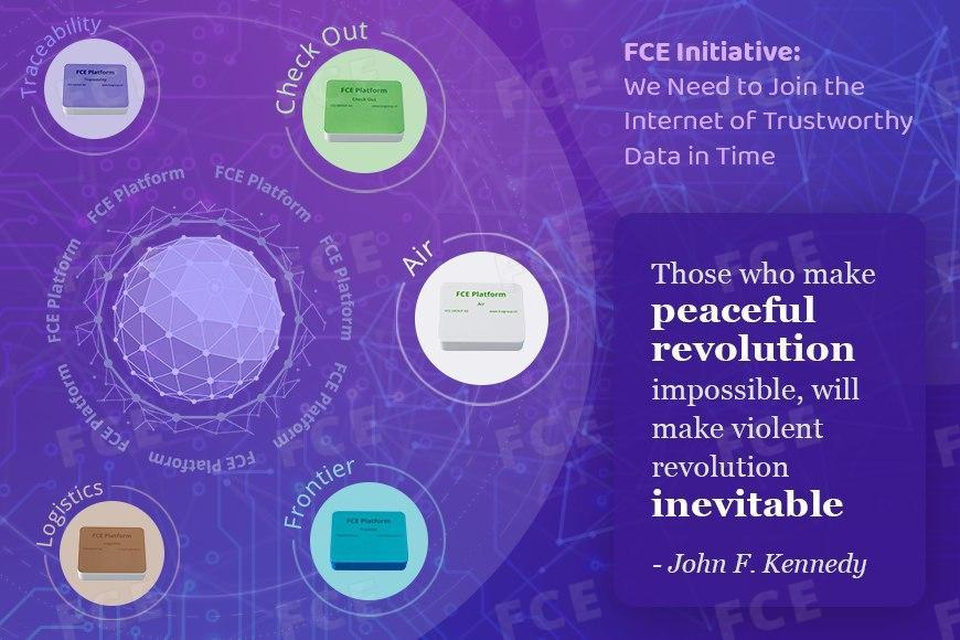 FCE Initiative: Join the Internet of Trustworthy Data (IoTD)