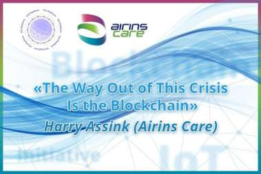 Harry Assink - Airins Care: The Way Out of This Crisis Is Blockchain