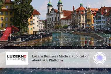 Luzern Business Made a Publication about FCE Platform