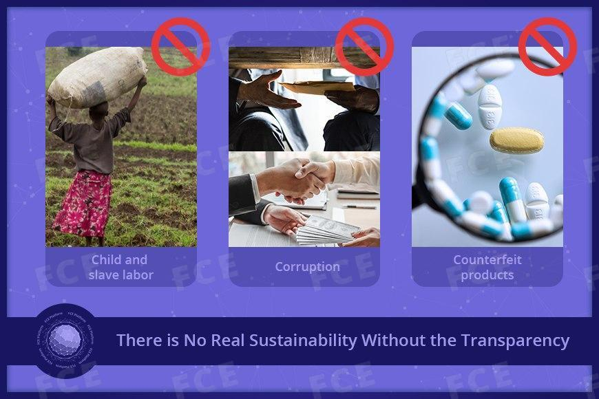 The basis for sustainability is transparency