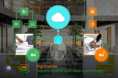 Digitization need control over data authenticity