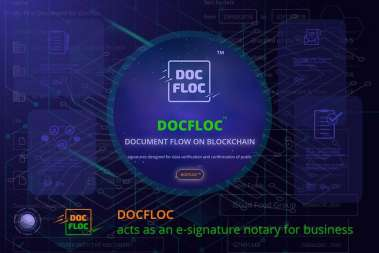 DOCFLOC acts as an e-signature notary for business