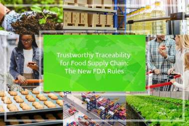 Trustworthy Traceability for Food Supply Chain: The New FDA Rules
