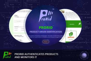 PRORID authenticates products and monitors it