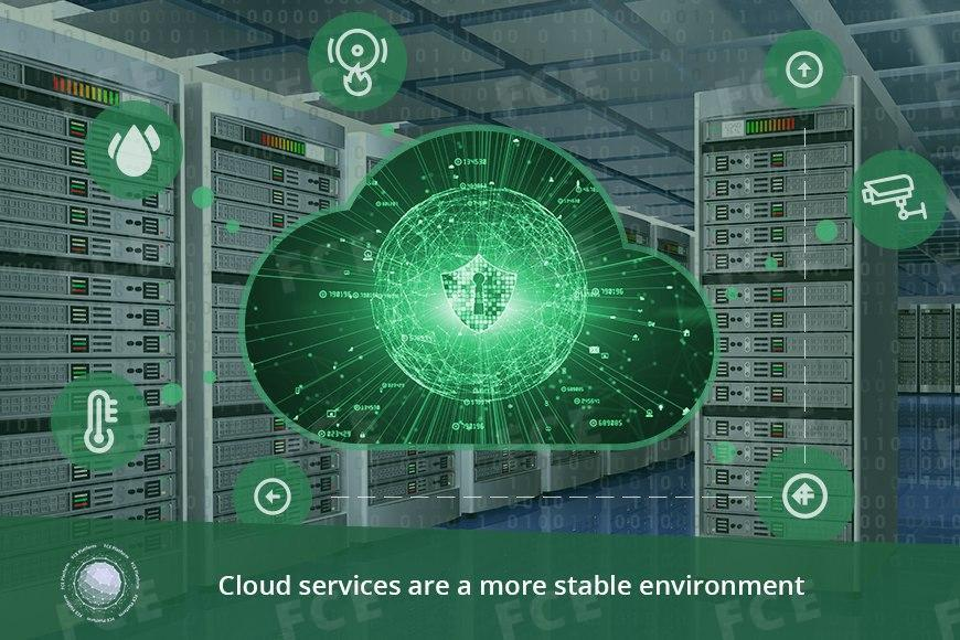 Source: Cloud services are a more stable environment