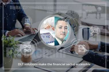 DLT solutions make the financial sector accessible
