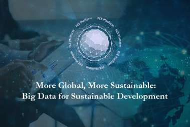 More Global, More Sustainable: Big Data for Sustainable Development