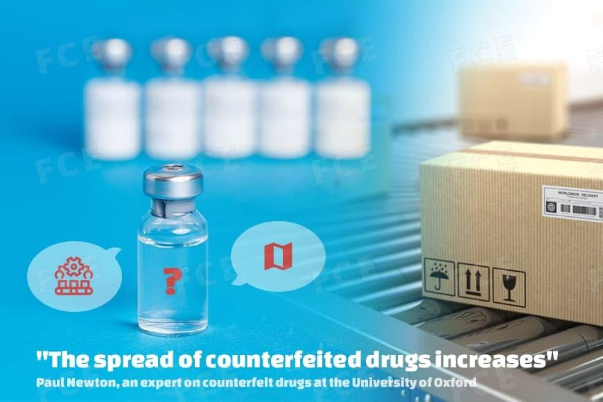 The spread of counterfeited drugs increases