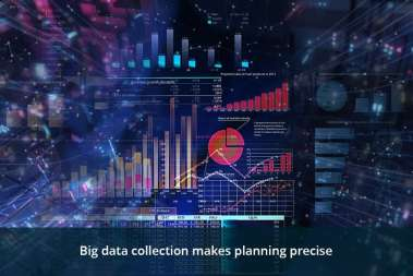Big data collection makes planning precise