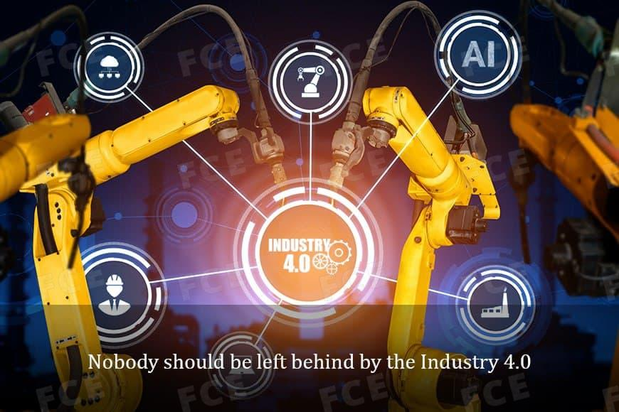 Nobody should be left behind by the Industry 4.0