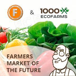 FoodCoin and 1000Ecofarms: Farmers market of the future