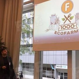 FoodCoin Ecosystem co-founder on Amsterdam Blockchain Summit