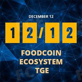 The FoodCoin Ecosystem TGE dates available now