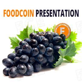 Graphical presentation about FOODCOIN