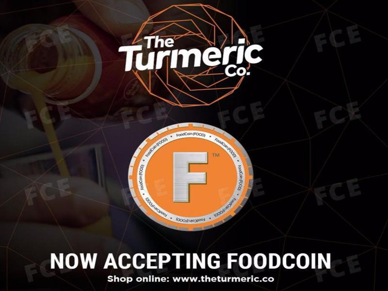 Source: The Turmeric Co. now accepting FoodCoin
